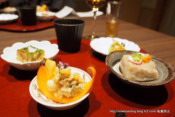 奥日田温泉うめひびき 夕食 養生前菜