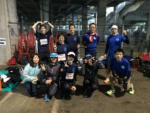 新横浜マラソン集合写真