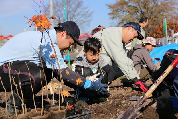 ブログ 植樹祭