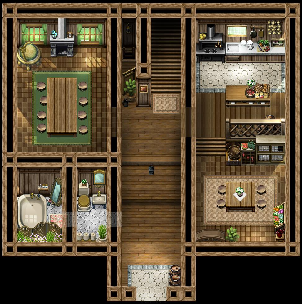 村長の家_1F