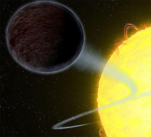漆黒の惑星