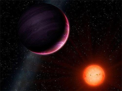 ありえない小さい恒星を回る巨大惑星