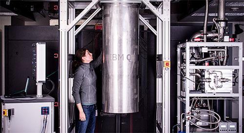 50量子ビットの量子コンピューター