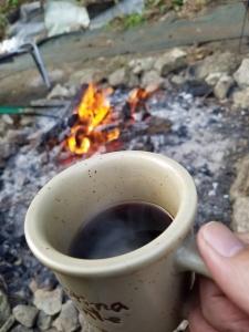 171121焚き火コーヒー