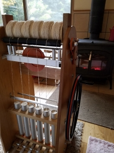 171125ガラ紡糸