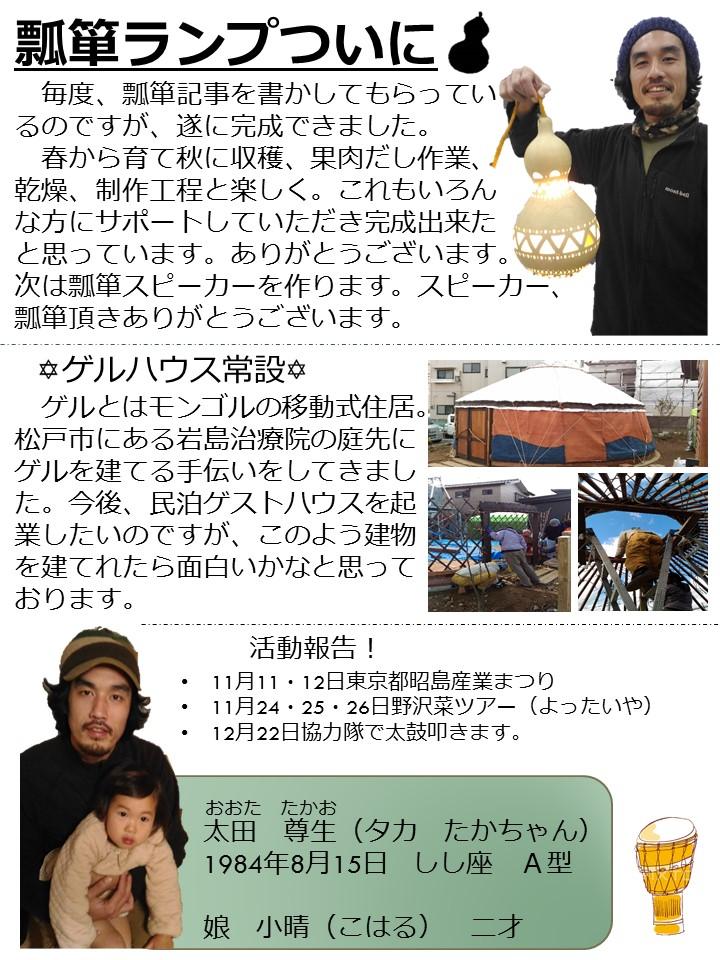 第66号協力隊新聞2