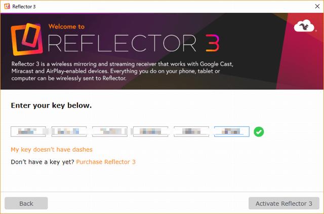 reflector 3 license key 2018