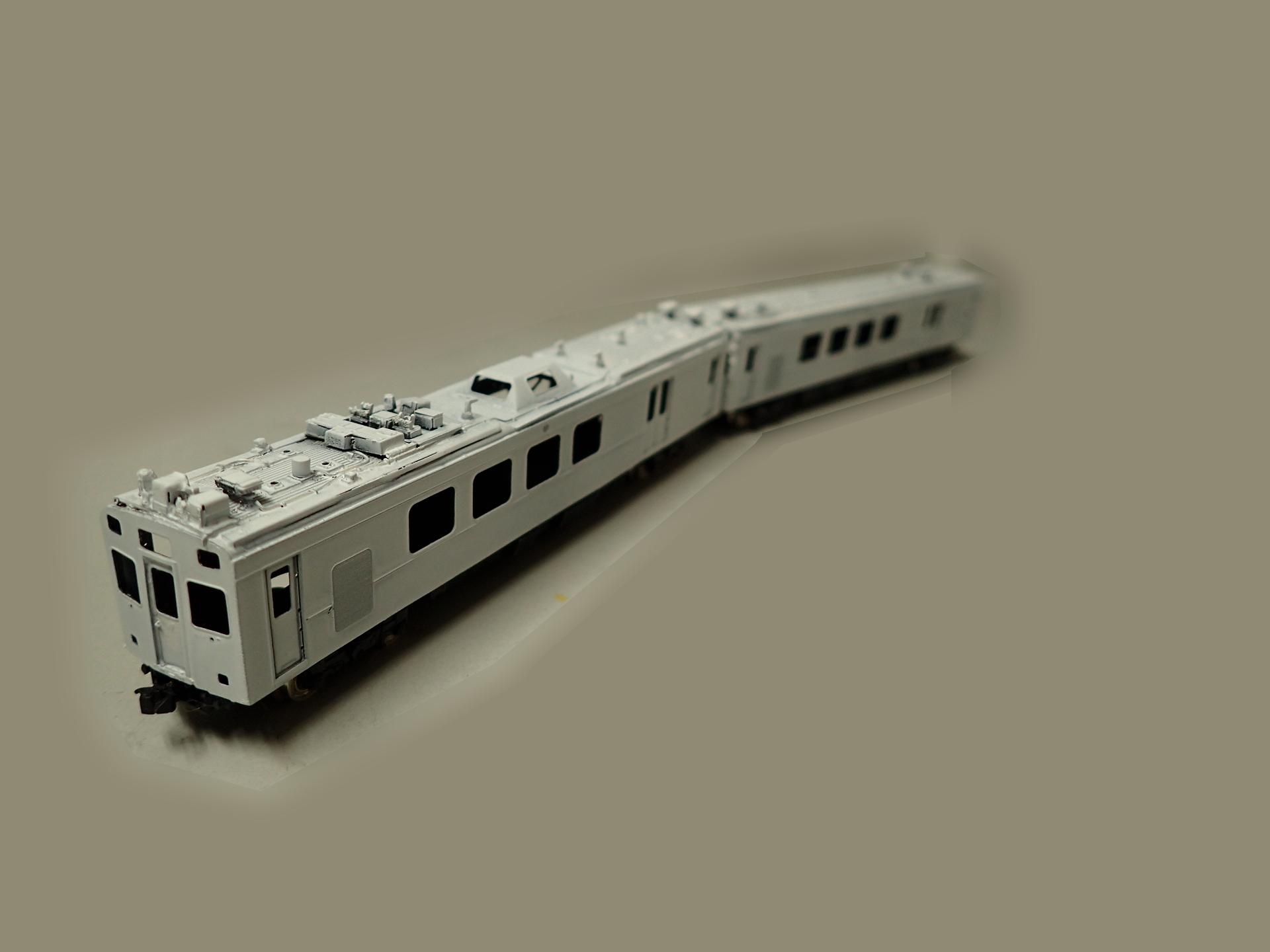 東急デヤ7500系TOQiの下地塗装を完成しました。