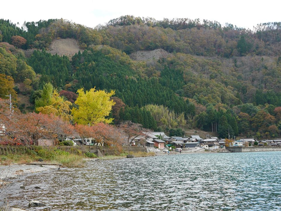 琵琶湖最北端 菅浦
