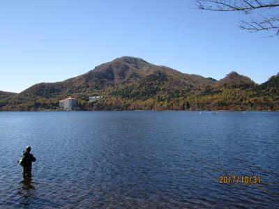 榛名湖から掃部ヶ岳