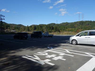 岩櫃山駐車場