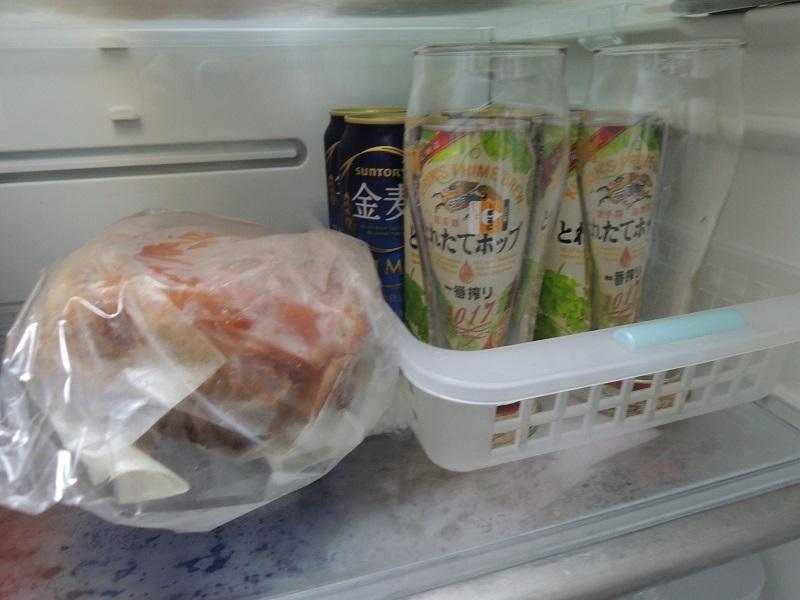 冷蔵庫で冷やして