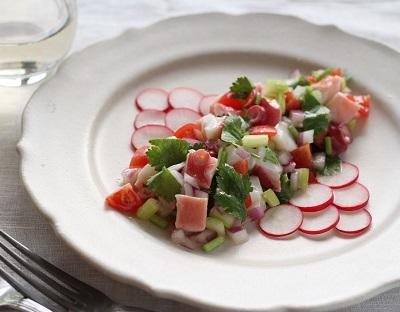 タコのサラダ1