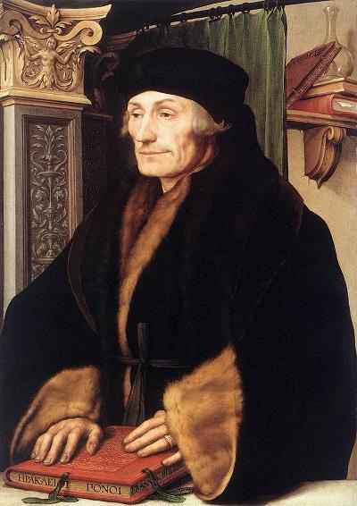 『1523年のエラスムス』ハンス・ホルバイン作