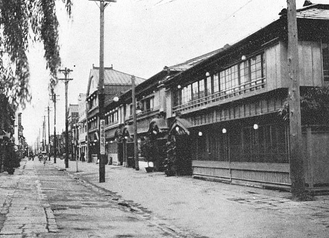 1932年の吉原の様子