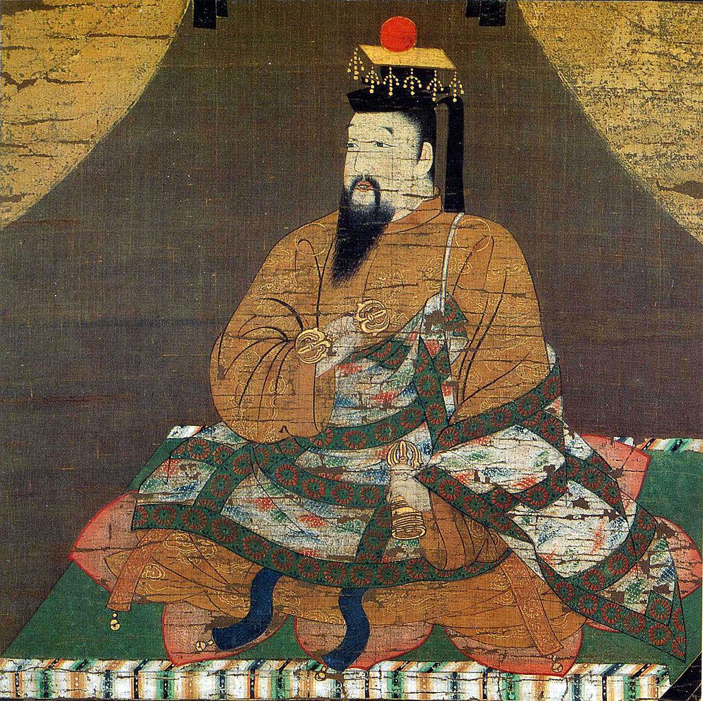 後醍醐天皇像(清浄光寺蔵)