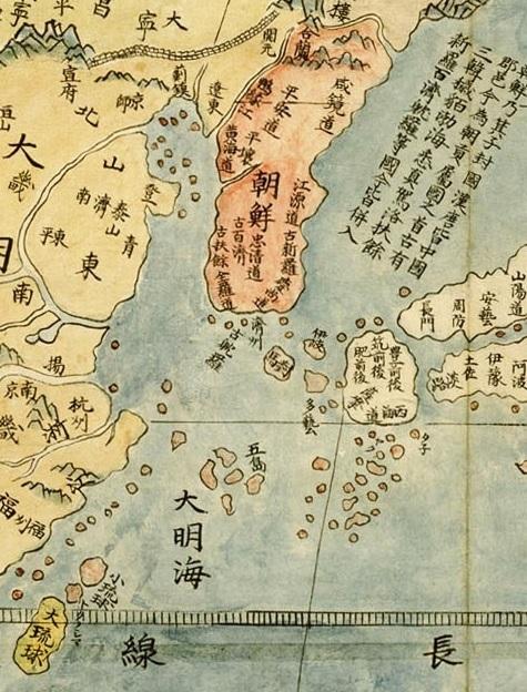 坤輿万国全図 4