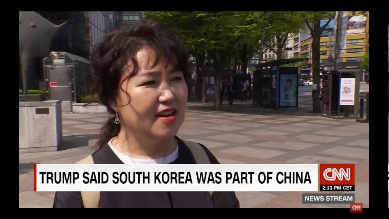 トランプ 朝鮮は中国の一部