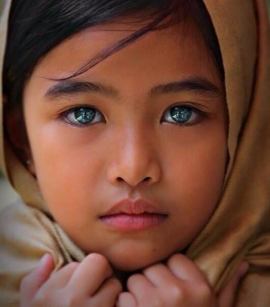 (問) 中国人の祖先の目の色は?