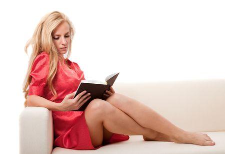 読書 女性 2-5