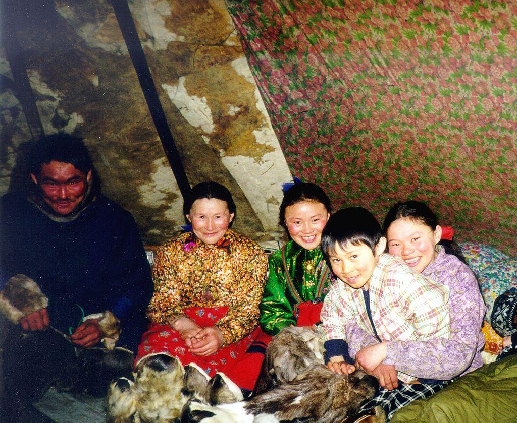 ネネツ人の家族