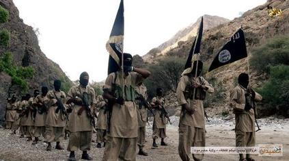 AQAP fighters in Yemen 2014