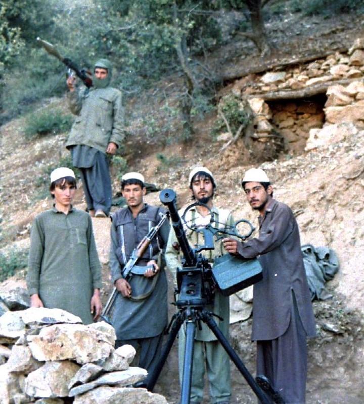 ムジャーヒディーンの兵士達(1987年)
