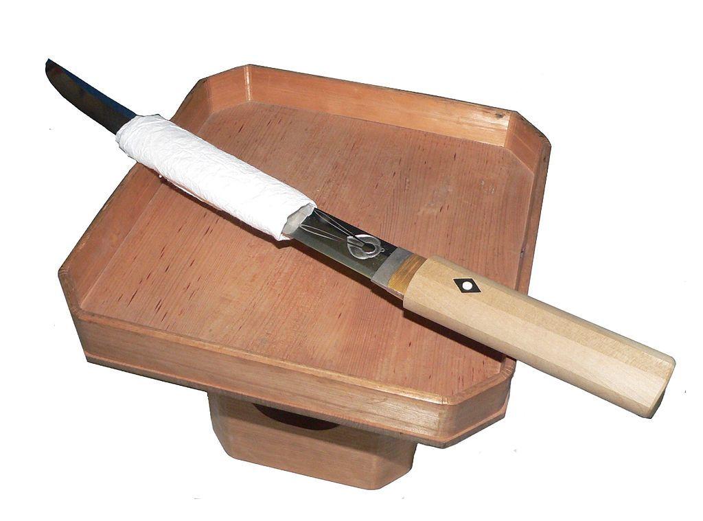 切腹用に用意された短刀
