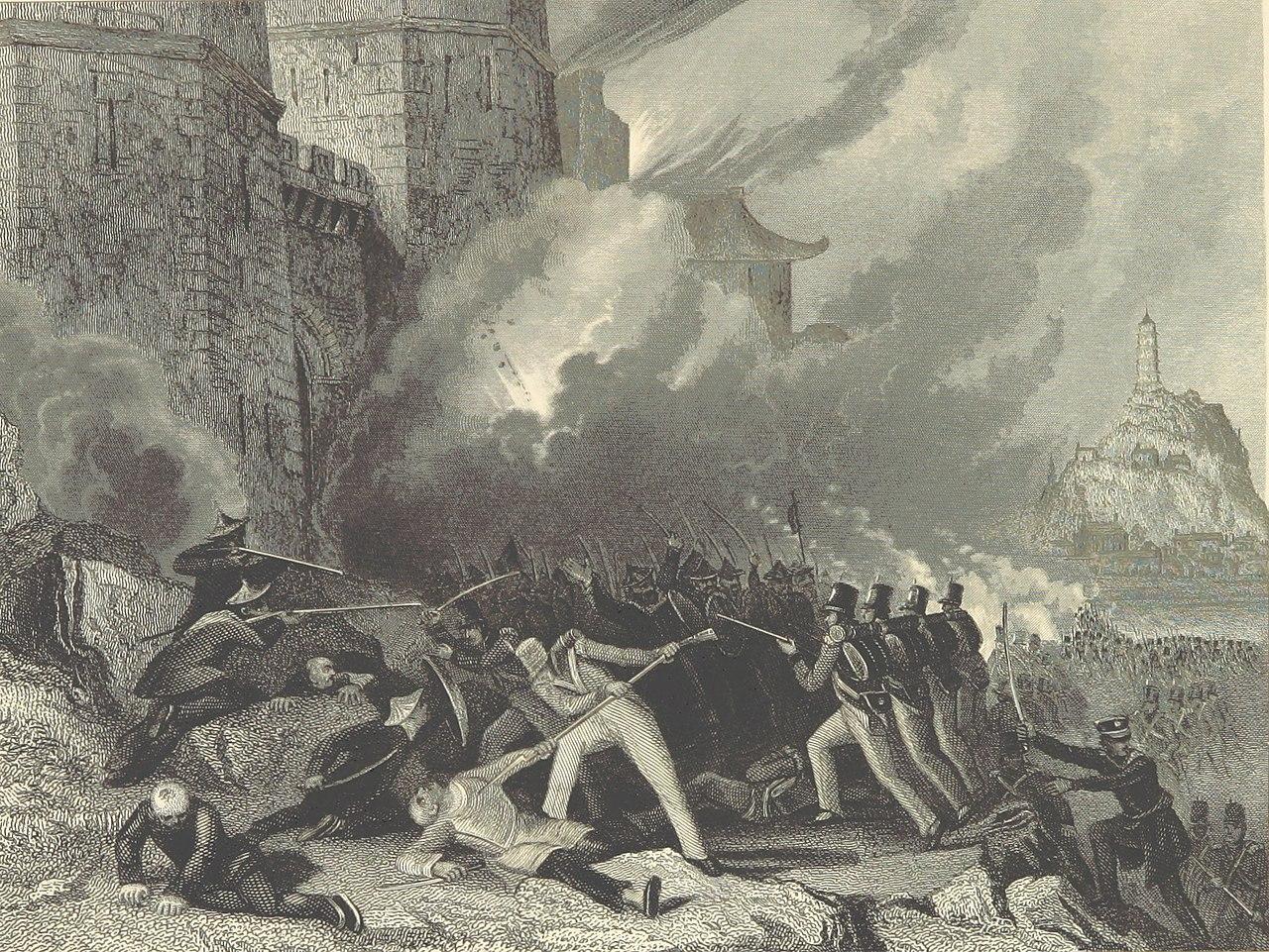 イギリス軍の鎮江攻略