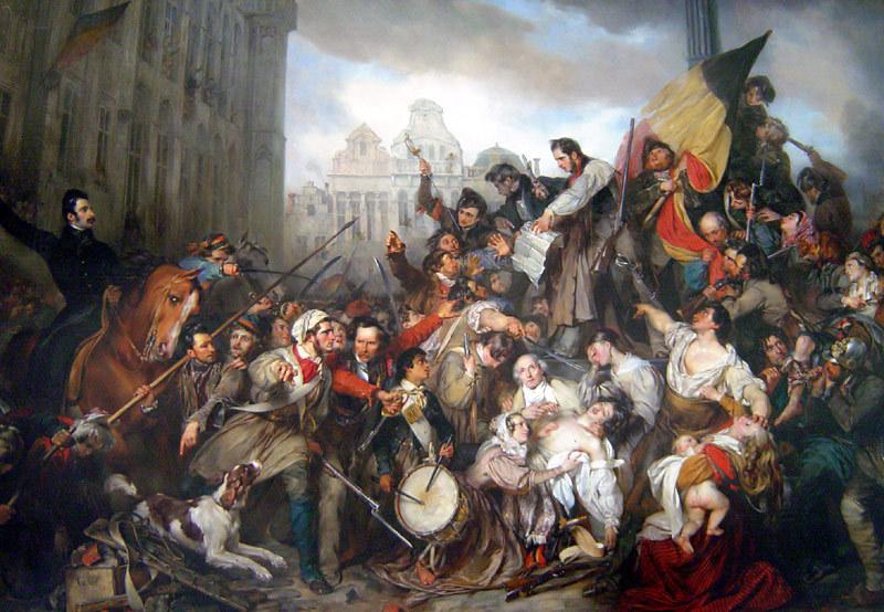 1830年のベルギー革命のエピソード