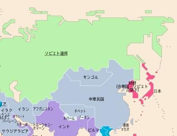 1945年世界地図 2