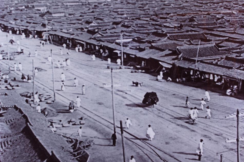 1902年の漢城(現在のソウルトクベツシー)