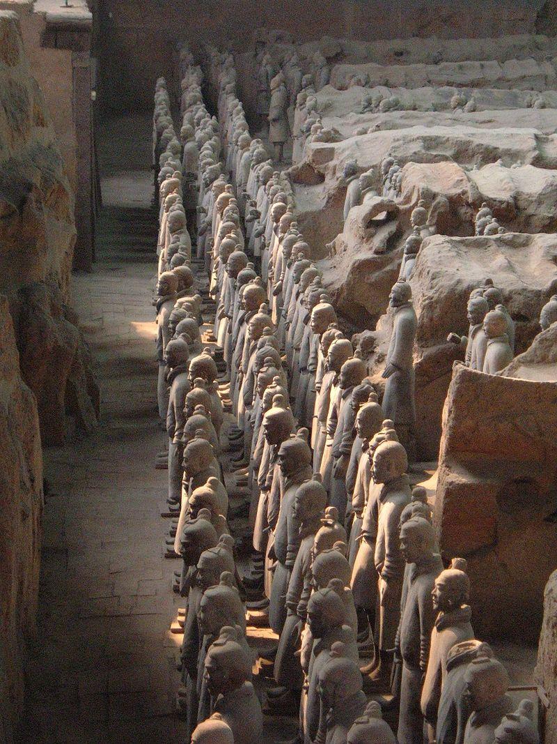実は、大したことはなかった、秦の始皇帝の統一