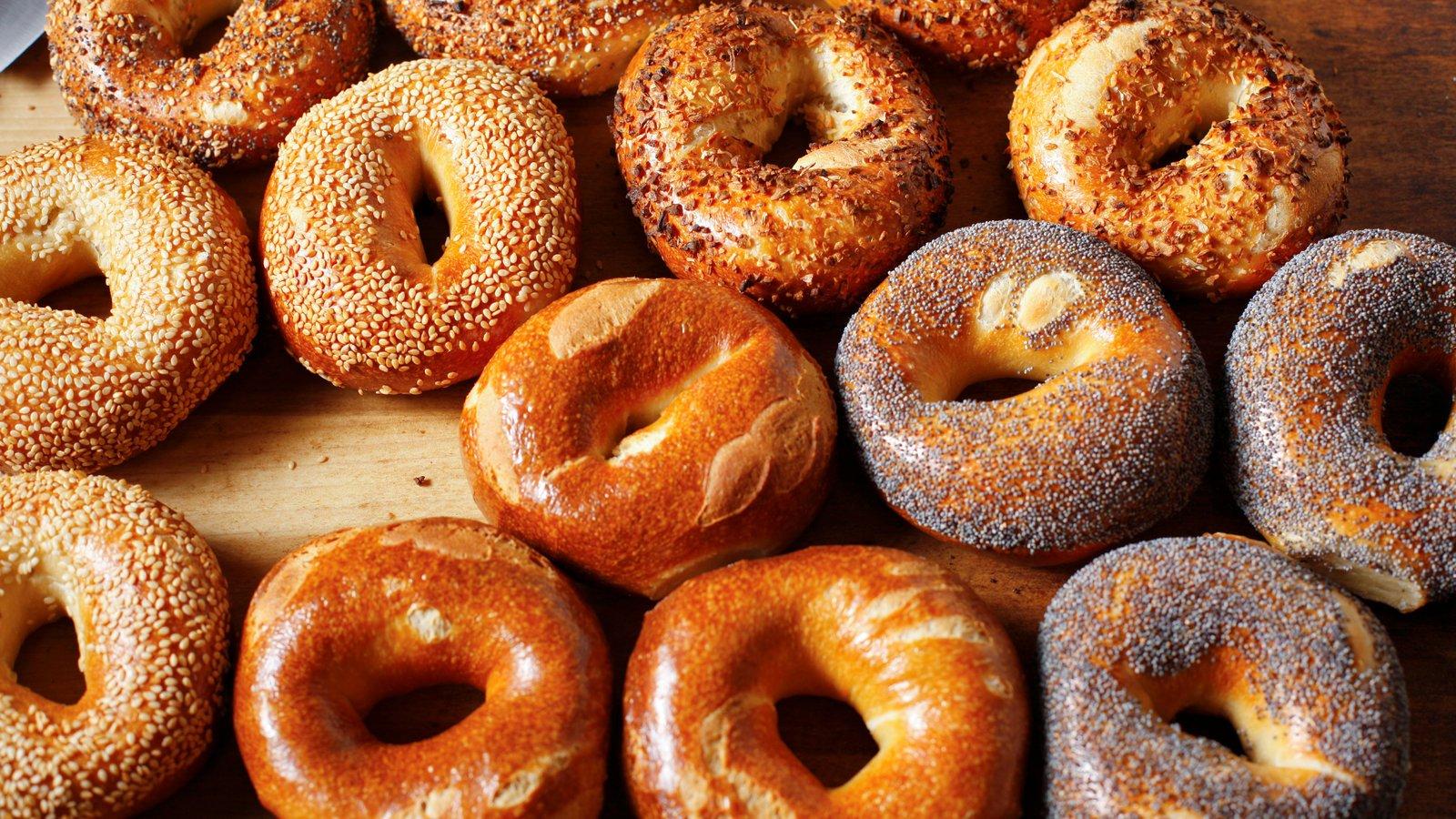 ベーグルは、ユダヤ人独特のパンです