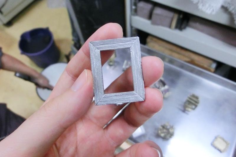大田区 池上 パンタレイ panta rhei イワキ精工 シルバー 真鍮 アクセサリー ギャラリー 鋳造