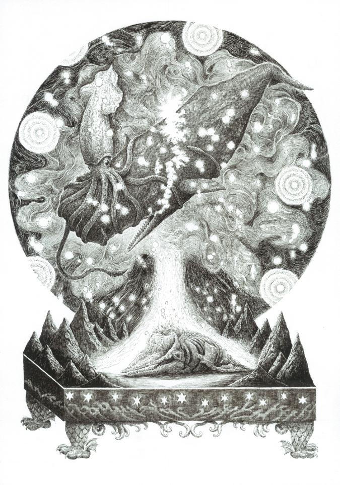 越智健仁 細密 いきもの 動物 絵画 パンタレイ panta rhei 大田区 池上 ギャラリー