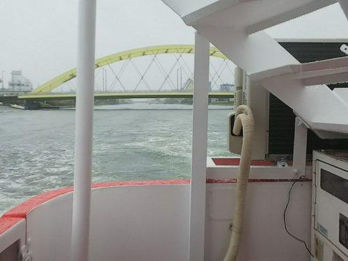 3中川運河船上バス