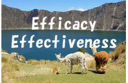 efficacyとeffectiveness