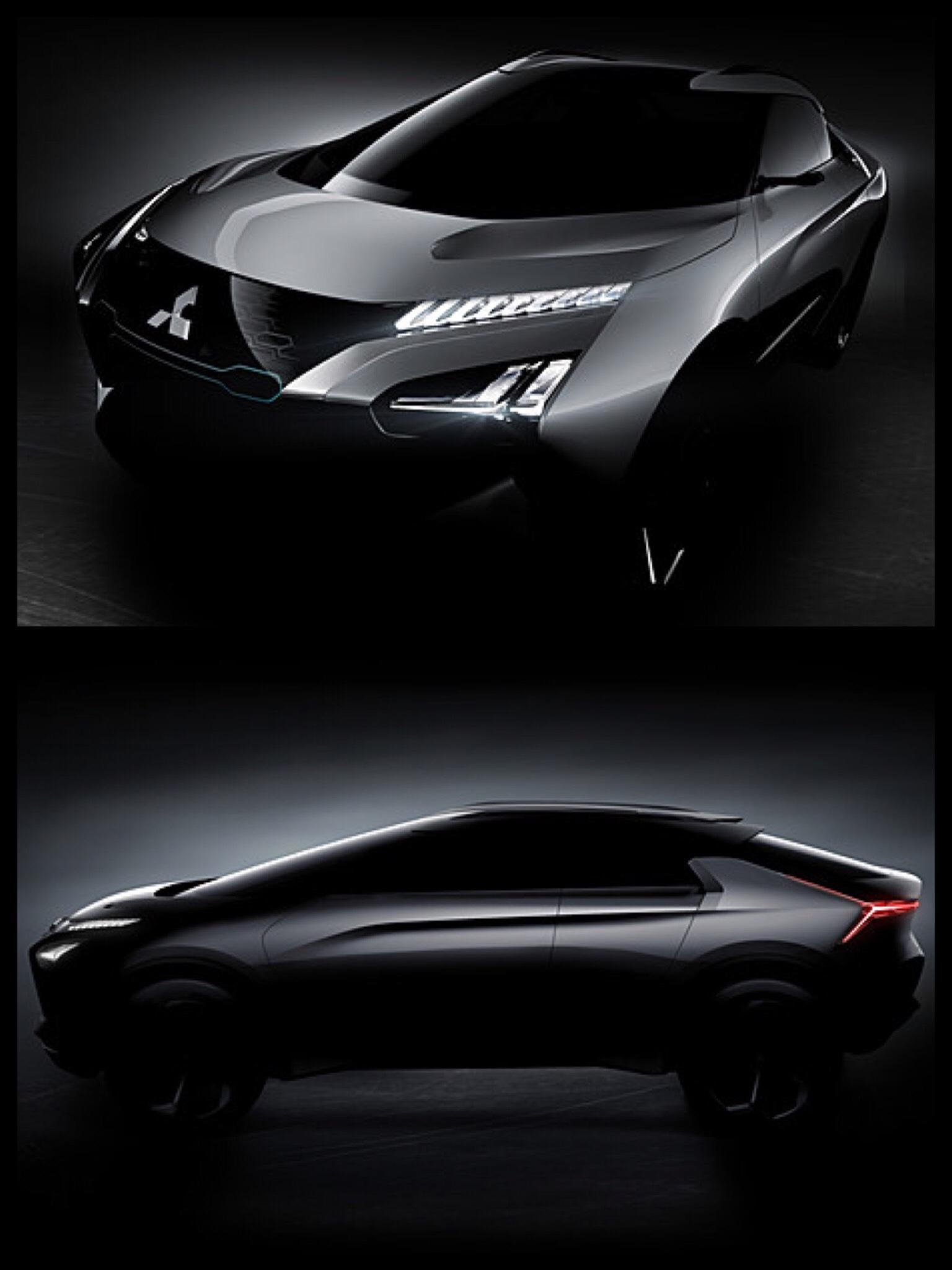 三菱 EV SUV e-evolution concept MITSUBISHI