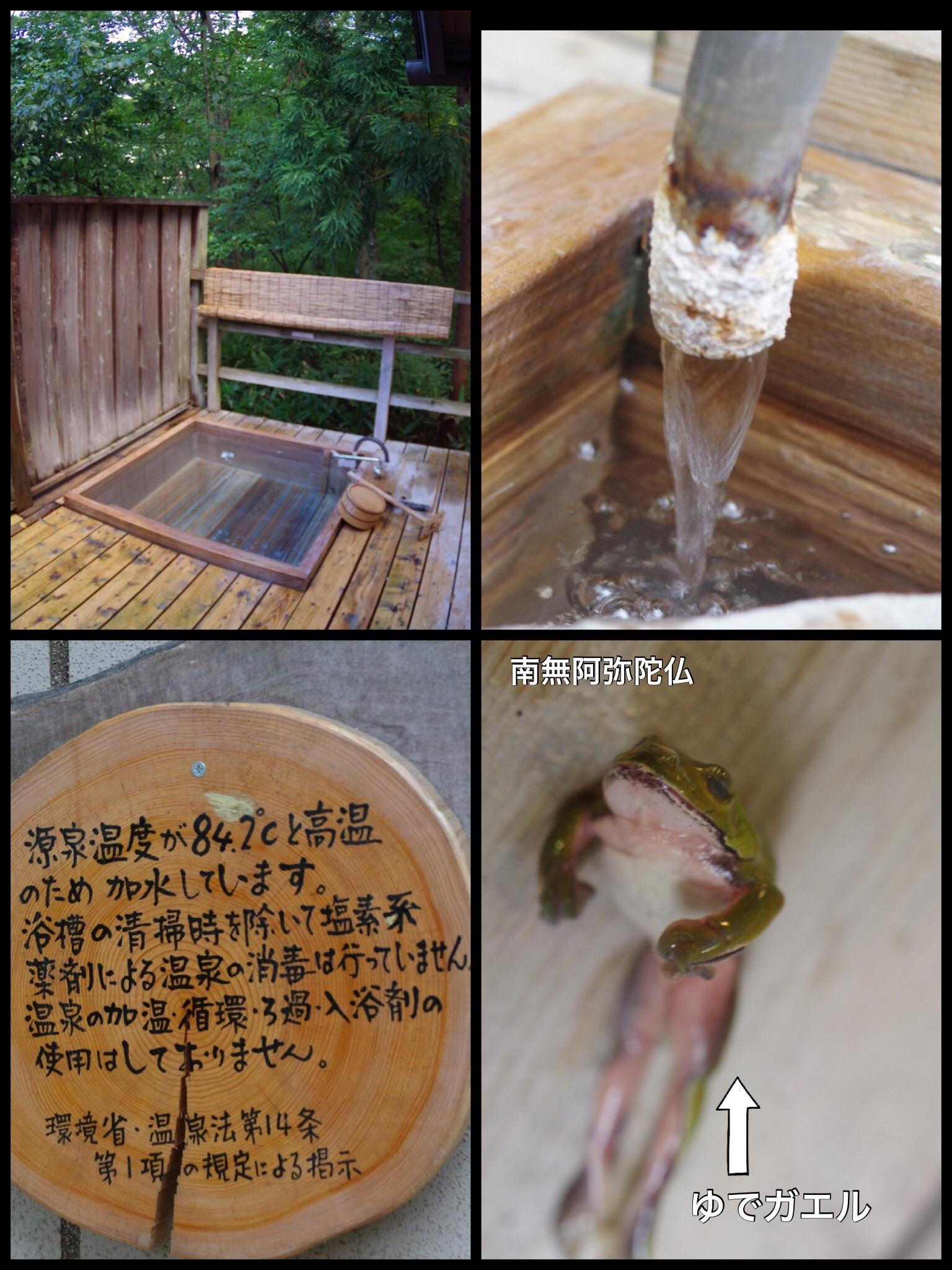 宮城 遠刈田温泉 だいこんの花 露天風呂