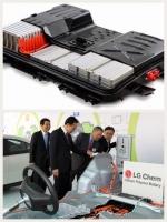 LG ev 用欧州最大リチウムイオン電池工場