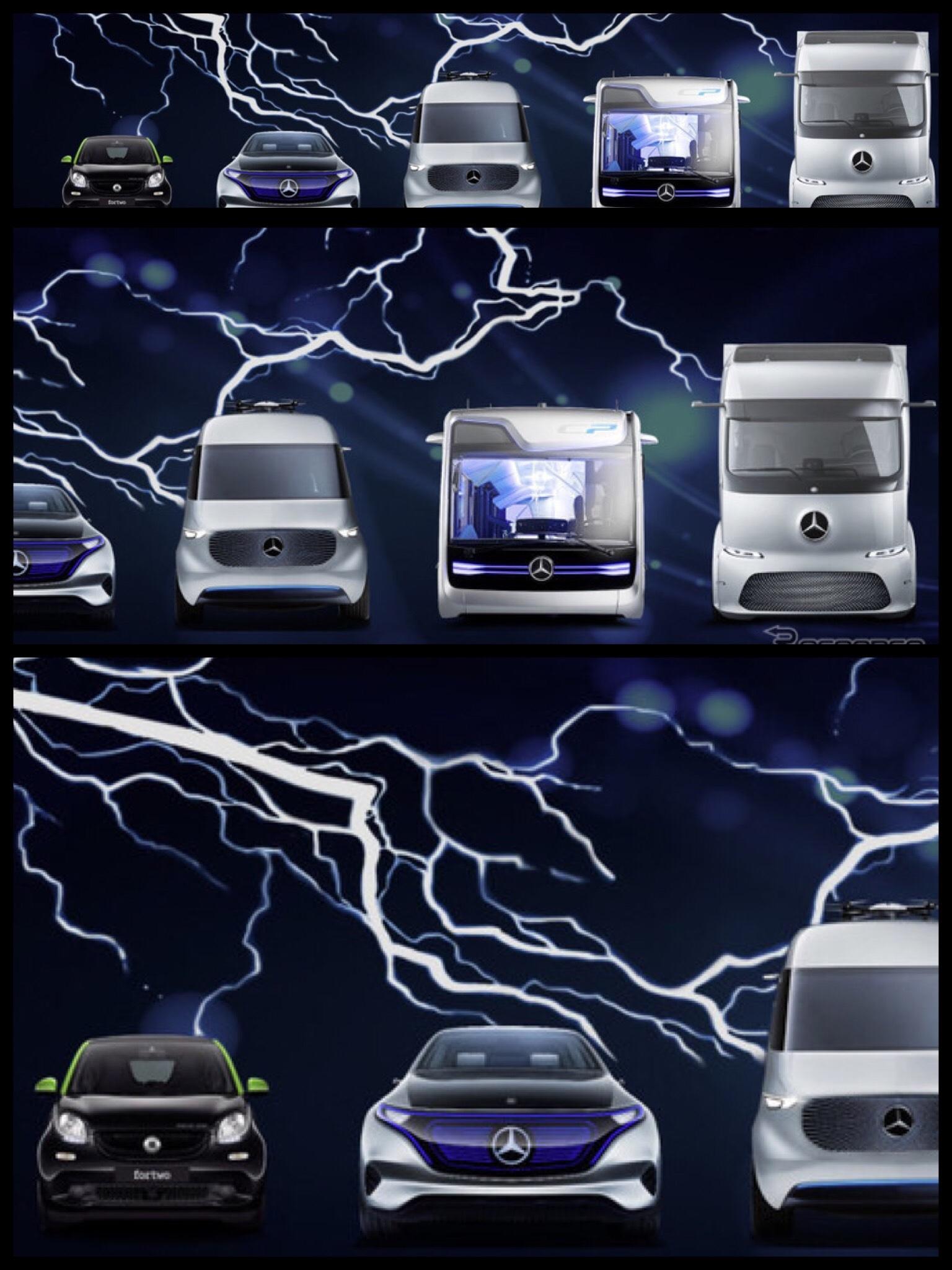 メルセデスベンツ EV 投入計画 EQ