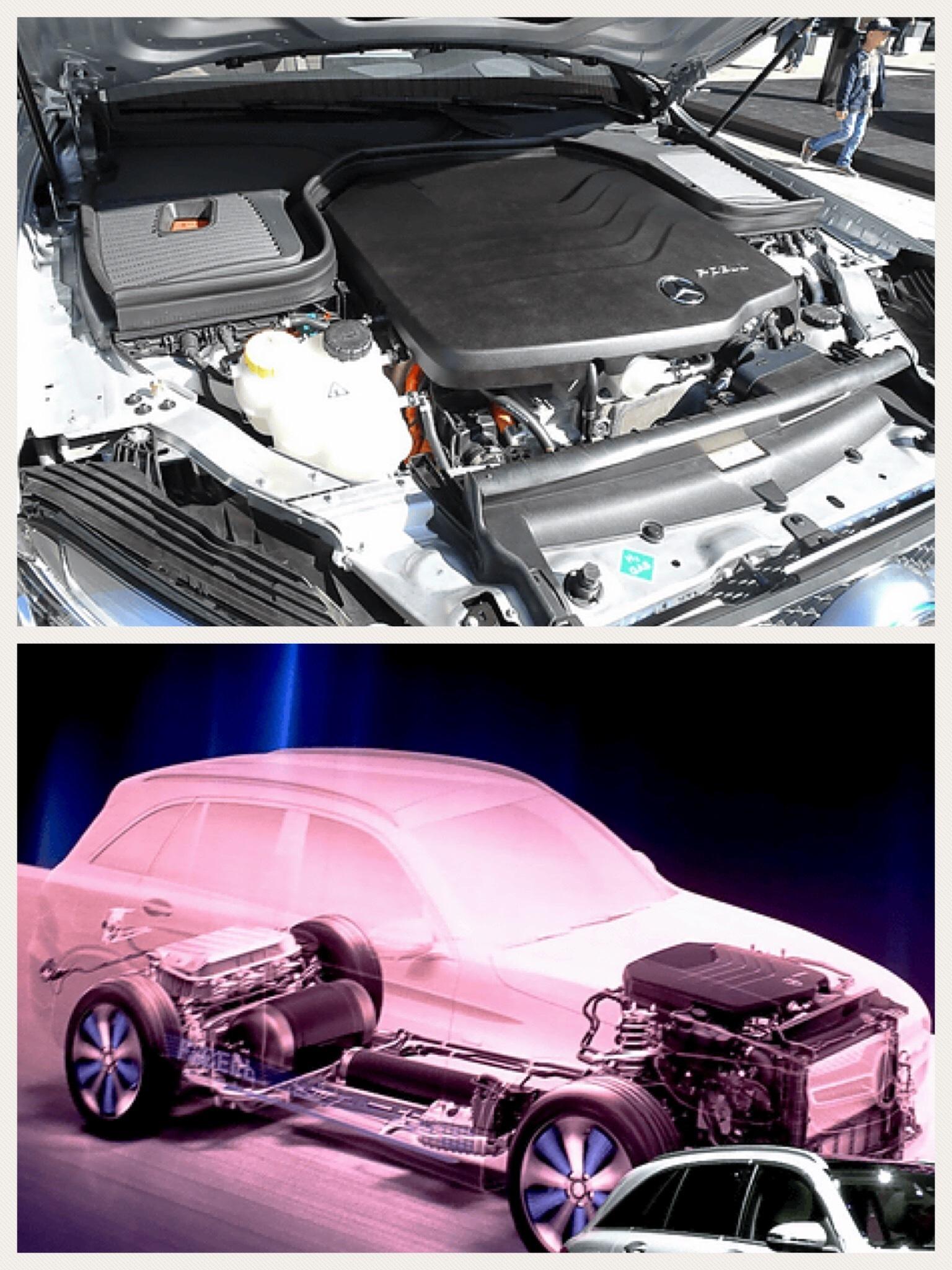 メルセデスベンツ PHEV プラグイン燃料電池車「GLC F-CELL」