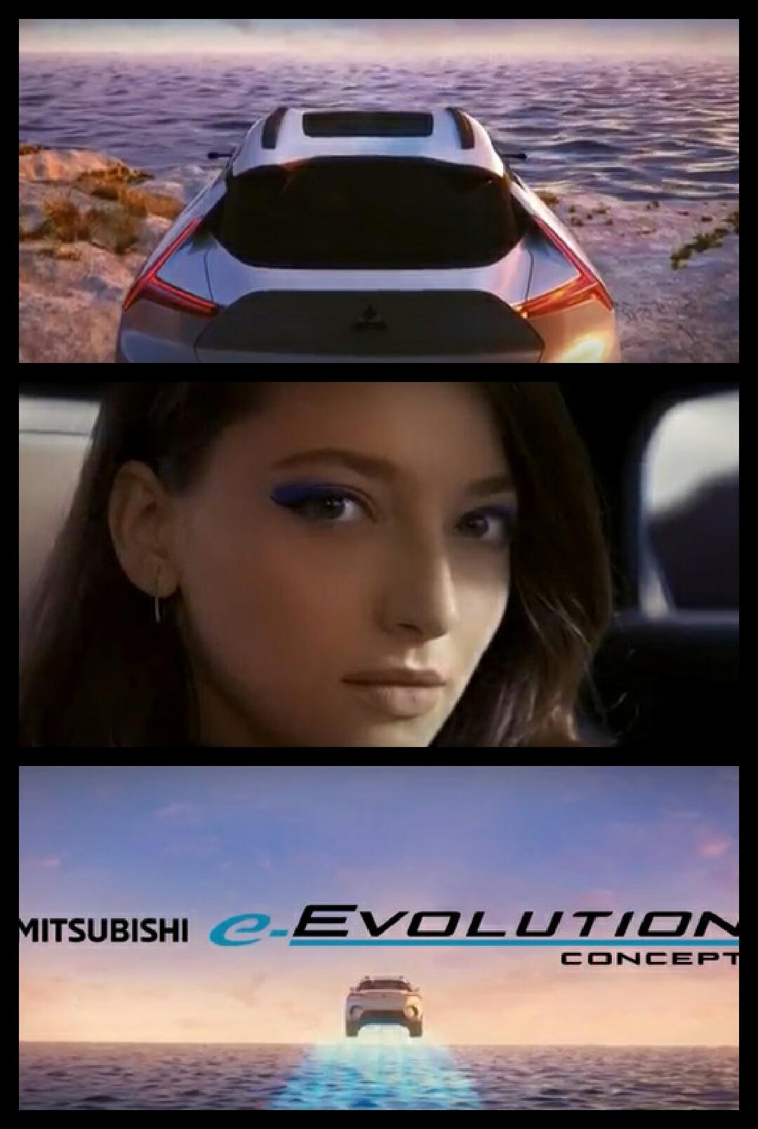 三菱 e-evolution concept MITSUBISHI eエボリューション