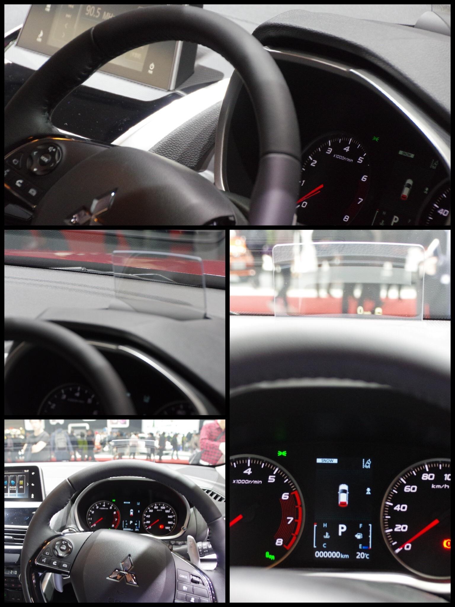 東京モーターショー2017 三菱ブース エクリプスクロス