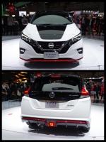 東京モーターショー2017 日産ブース 新型リーフ NISMO