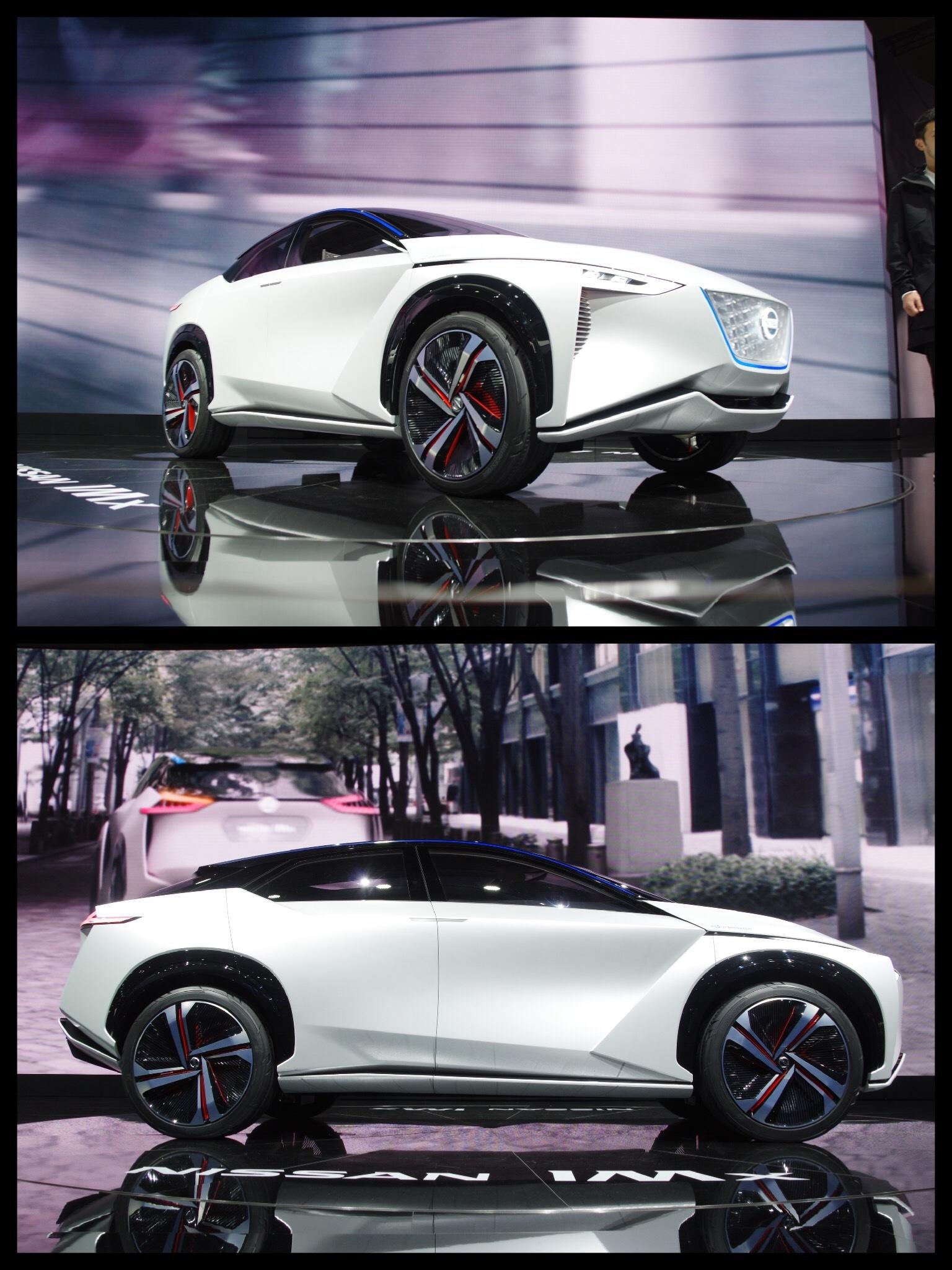 東京モーターショー2017 日産ブース NISSAN IMX CONCEPT