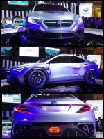 東京モーターショー2017 スバルブース SUBARU VIZIV PERFORMANCE CONCEPT