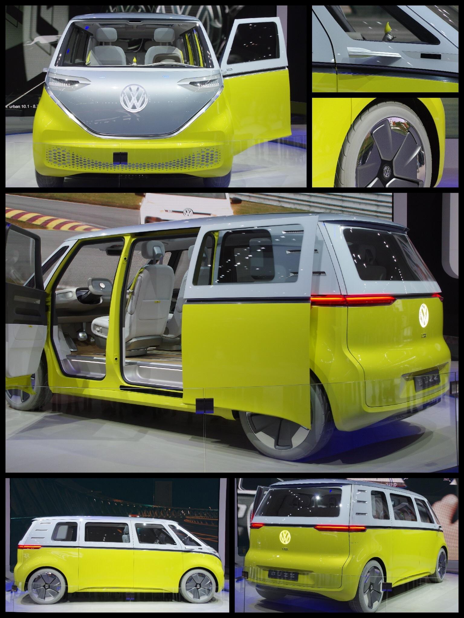 東京モーターショー2017 VW ID BUZZ
