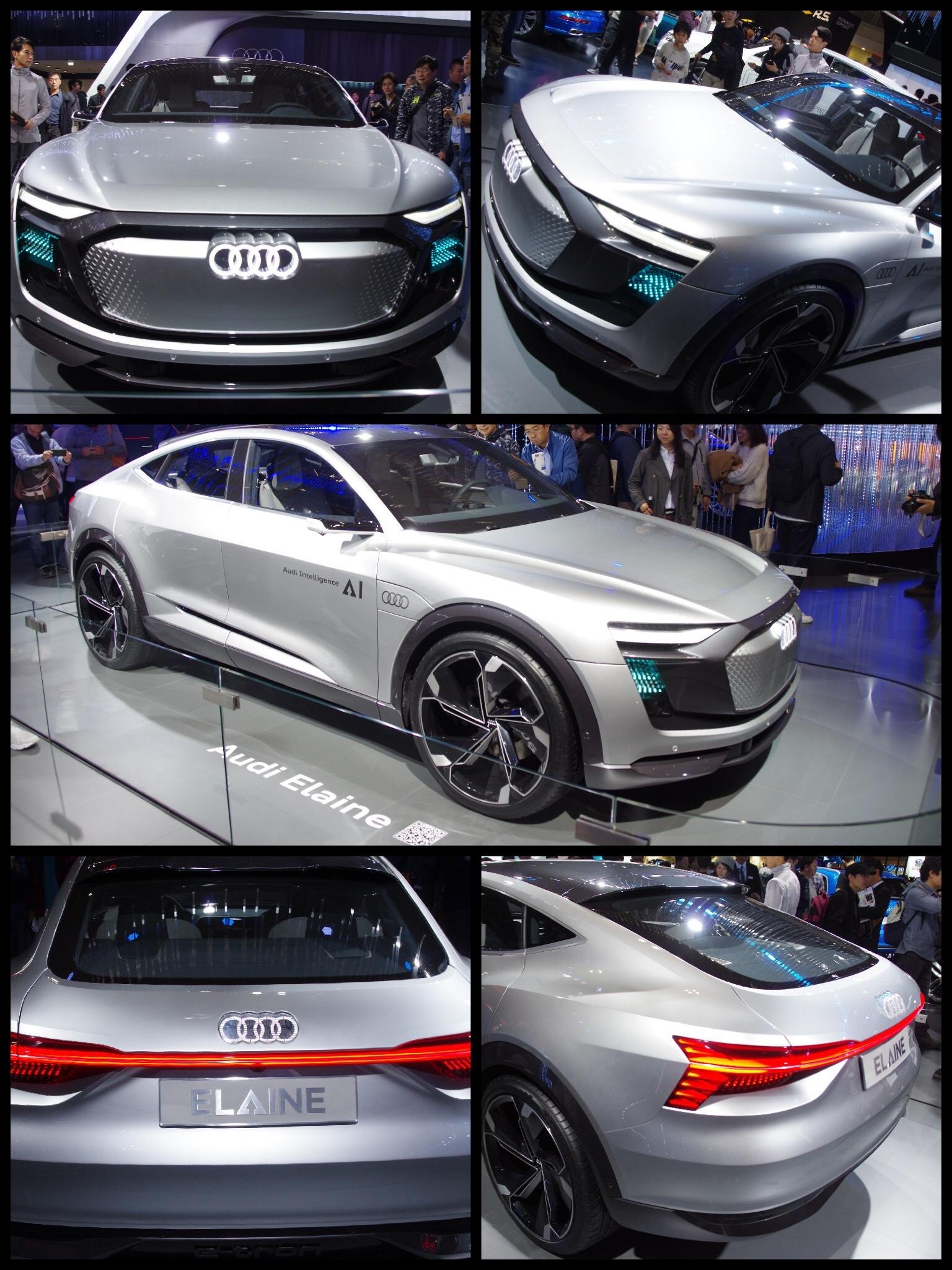 東京モーターショー2017 AUDI Eleine concept
